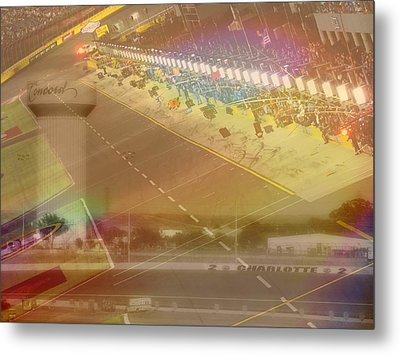Charlotte Motor Speedway Metal Print by Kenneth Krolikowski