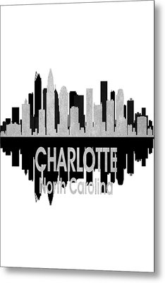 Charlotte Nc 4 Vertical Metal Print by Angelina Vick