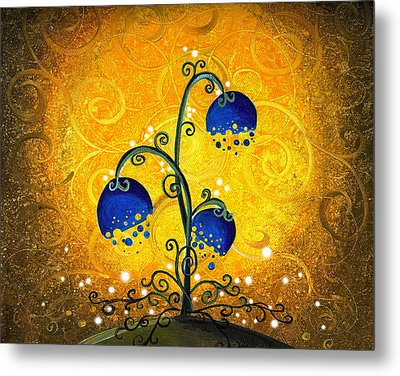 Charmed September Metal Print by Cindy Thornton