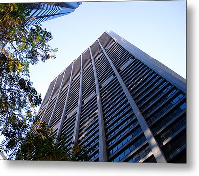 Chase Tower Chicago Metal Print by DB Artist