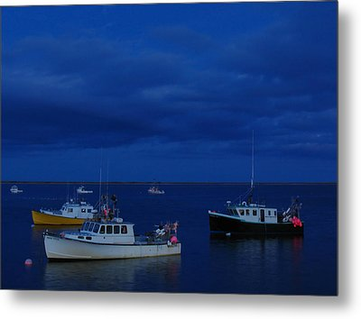 Chatham Pier Metal Print by Juergen Roth