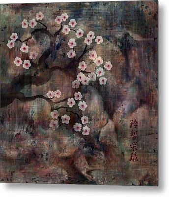 Cherry Blossoms Metal Print by Rachel Christine Nowicki