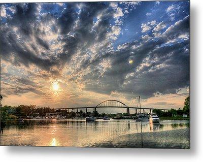 Chesapeake City Metal Print by JC Findley