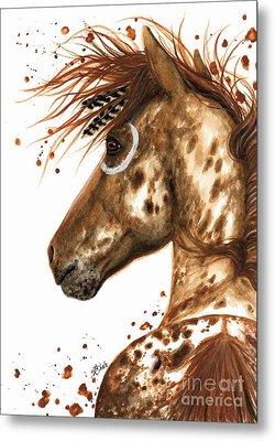 Appaloosa Horse Metal Print by AmyLyn Bihrle