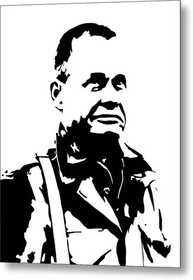 Chesty Puller Metal Print by War Is Hell Store