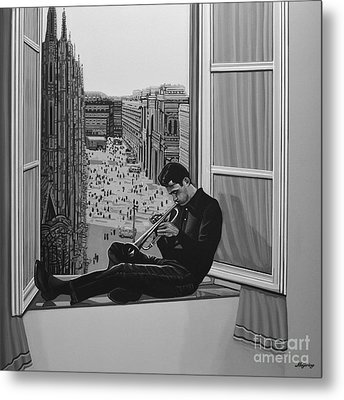 Chet Baker Metal Print by Paul Meijering