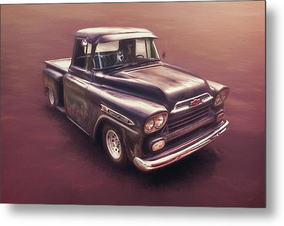 Chevrolet Apache Pickup Metal Print by Scott Norris