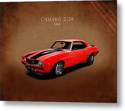 Chevrolet Camaro Z 28 Metal Print by Mark Rogan