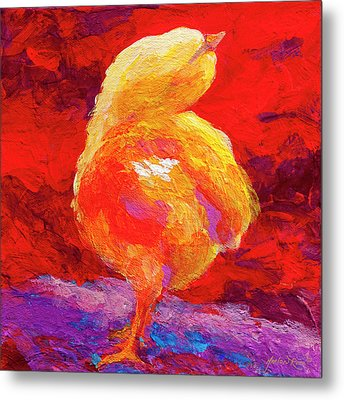 Chic Flic V Metal Print by Marion Rose