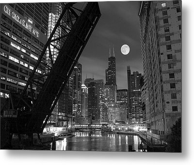 Chicago Pride Of Illinois Metal Print by Frozen in Time Fine Art Photography