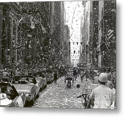 Chicago Welcomes Apollo 11 Astronauts Metal Print by Nasa