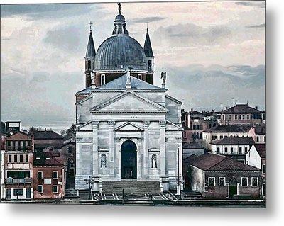 Chiesa Del Redentore Venice Metal Print by Tom Prendergast