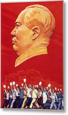 Chinese Communist Poster Metal Print by Granger