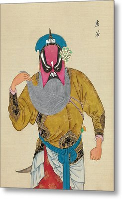 Chinese Opera Metal Print by Unknow