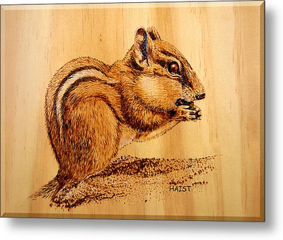 Chippies Lunch Metal Print by Ron Haist