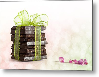 Chocolate Metal Print by Nailia Schwarz