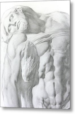 Christ 1a Metal Print by Valeriy Mavlo