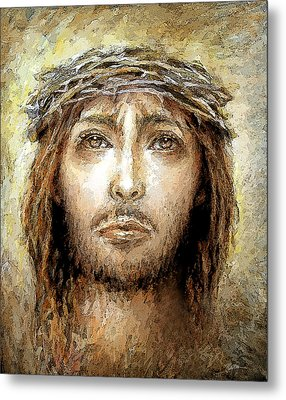 Salvifici Doloris  Metal Print by Mary Zins