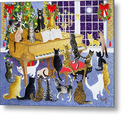 Christmas Chorus Metal Print by Pat Scott