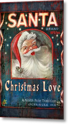 Christmas Love Metal Print by Joel Payne