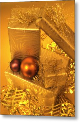 Christmas Presents Metal Print by Wim Lanclus