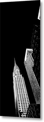 Chrysler Nights Metal Print by Az Jackson