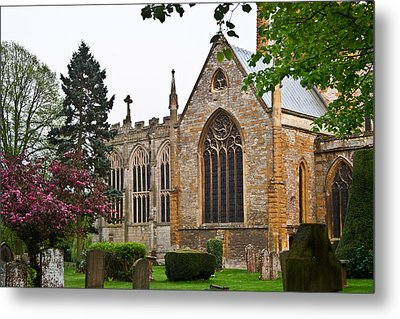 Church Of The Holy Trinity Stratford Upon Avon 3 Metal Print by Douglas Barnett