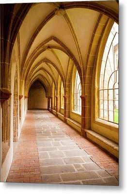 Church Passage Metal Print by Rae Tucker