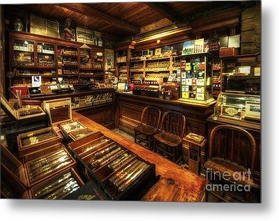 Cigar Shop Metal Print by Yhun Suarez