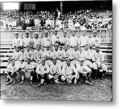 Cincinnati Reds, Baseball Team, 1919 Metal Print by Everett