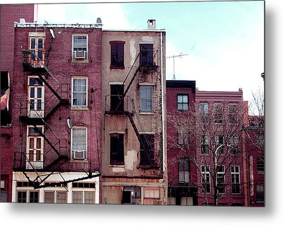 City Block Philly Metal Print by Jame Hayes
