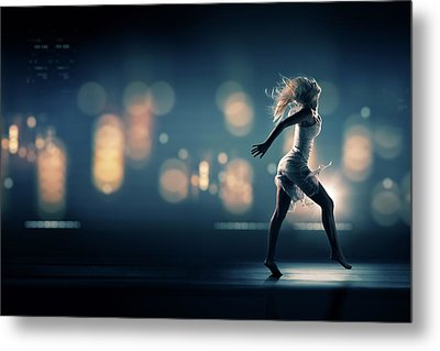 City Girl Metal Print by Johan Swanepoel