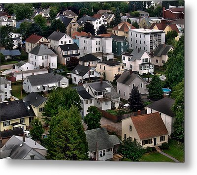 City Neighborhood Metal Print by Anthony Dezenzio