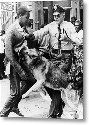 Civil Rights, 1963 Metal Print by Granger