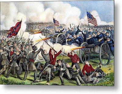 Civil War: Gettysburg, 1863 Metal Print by Granger