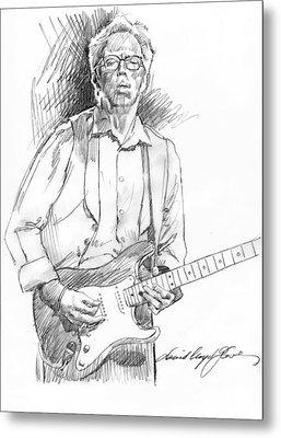 Clapton Riff Metal Print by David Lloyd Glover