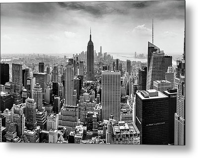 Classic New York  Metal Print by Az Jackson