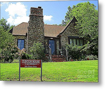 Clinton House Museum 1 Metal Print by Randall Weidner