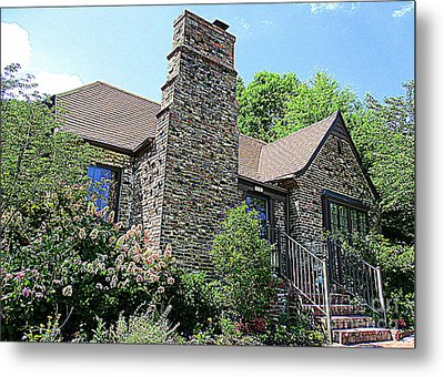 Clinton House Museum 3 Metal Print by Randall Weidner
