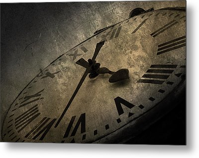 Clock Metal Print by Svetlana Sewell