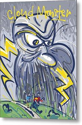 Cloud Monster Metal Print by Brett LaGue