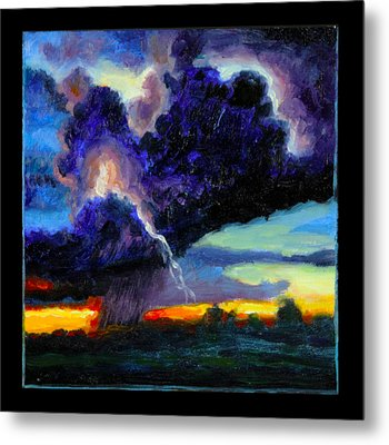 Clouds Number Six Metal Print by John Lautermilch