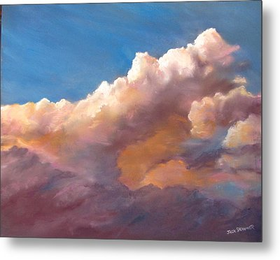 Clouds Over The Island Metal Print by Jack Skinner