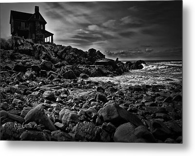 Coastal Home  Kennebunkport Maine Metal Print by Bob Orsillo