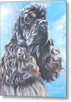 Cocker Spaniel 2 Metal Print by Lee Ann Shepard