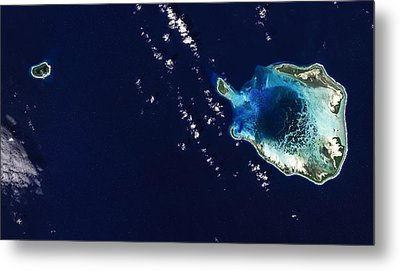 Cocos Islands Metal Print by Adam Romanowicz