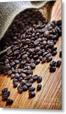 Coffee Beans Metal Print by Elena Elisseeva