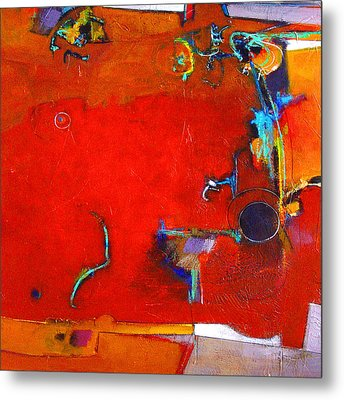 Coffee Cafe Metal Print by Dale  Witherow