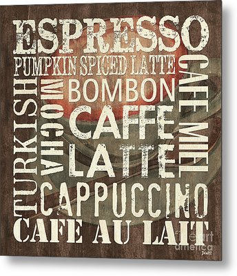 Coffee Of The Day 2 Metal Print by Debbie DeWitt
