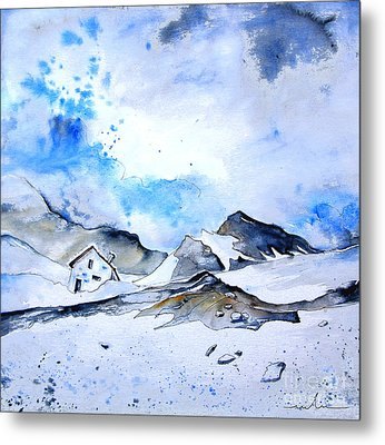 Col Du Pourtalet In The Pyrenees 01 Metal Print by Miki De Goodaboom